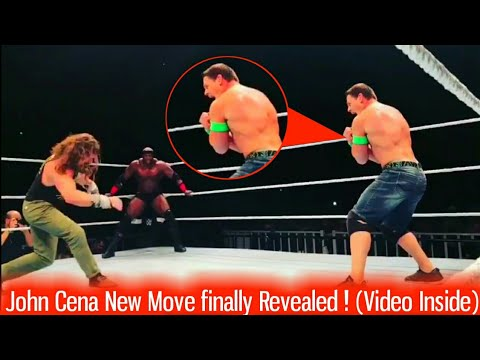 John Cena New Move Revealed : 6th Move of Doom !