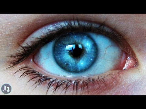 Photoshop CC Tutorial: Galaxy Eye Photo Manipulation Effect