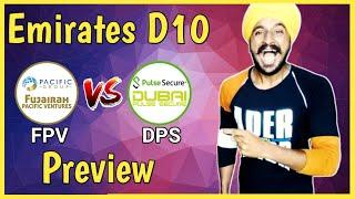 FPV vs DPS | Emirates D10 League 2020 | Pitch Report | Dream11 | Prediction