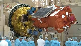 Closing the fairing! NSLSat-1 so close to launch!