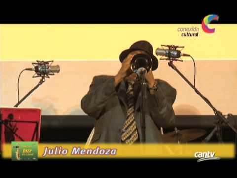 Julio Mendoza encendió la fiesta musical con su Jazz en Clave en Conexión Cultural Cantv