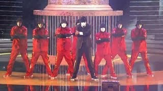 Jabbawockeez and Wayne Brady at the Daytime Emmy's