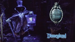 2019 Disneyland The Haunted Mansion Low Light On Ride HD POV Complete