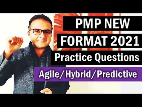 PMP NEW EXAM FORMAT QUESTIONS (AGILE/PREDICTIVE ...