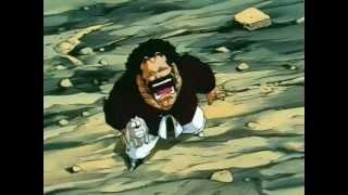 Mr. Satan  - (Dragon Ball) - mr satan se burla de majin boo y casi se caga HD.