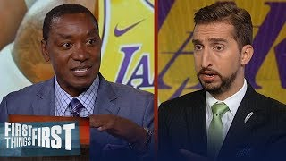 Clippers have a better shot to win a title next season - Isiah Thomas | NBA | FIRST THINGS FIRST