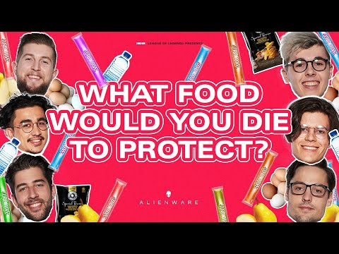 What Food Would You Die To Protect? | #ORDERLOL