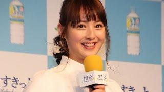 """佐々木希、""""レモン""""粉砕して登場!新飲料「アサヒすきっとレモン」発表会1#NozomiSasaki#event"""
