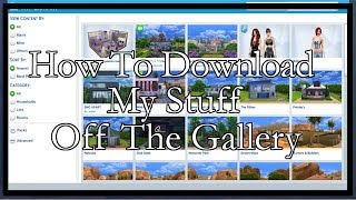 How to download My Stuff Sims 4