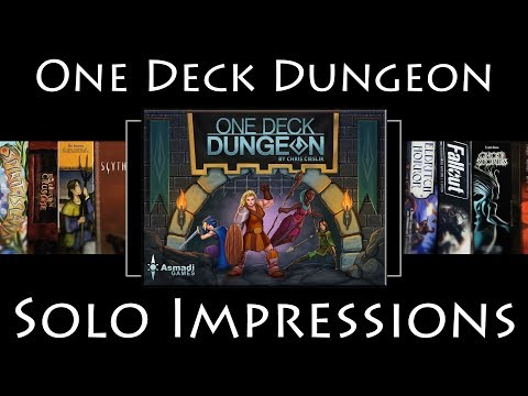 One Deck Dungeon - Solo Impressions