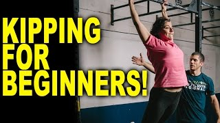 HOW TO do Kipping Pull-Ups for beginners!