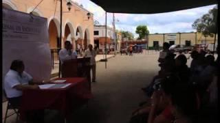 preview picture of video 'Entrega de Escrituras de la Corett, Delegación Yucatán.'
