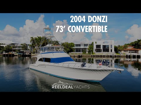 Donzi 73 Convertible video