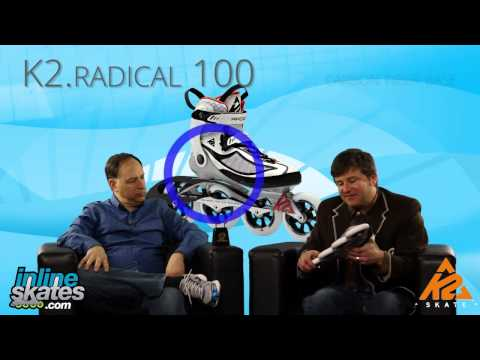 2016 K2 Radical 100 Womens Inline Skate Overview by INLINESKATES.COM