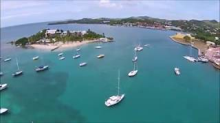 preview picture of video 'Christiansted Fly Over - St. Croix US Virgin Islands'