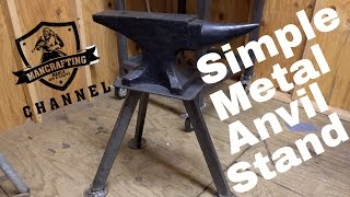 Basic Metal Anvil Stand