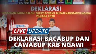 LIVE UPDATE Deklarasi Ony Anwar dan Dwi Rianto Jatmiko untuk Pilkada Ngawi 2020