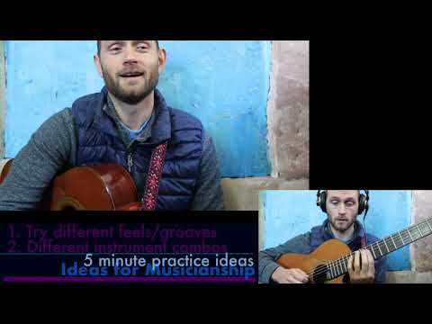 5 minute Practice Ideas | Make Your Own Backing Track