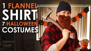 1 Flannel Shirt, 7 Halloween Costumes | Art Of Manliness