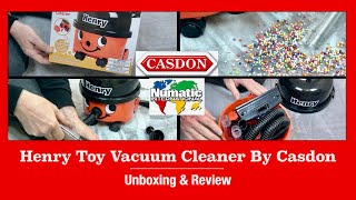 New Version Henry Toy Vacuum Cleaner By Casdon Unboxing & Demonstration