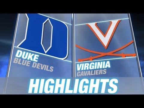 Duke vs Virginia Highlights