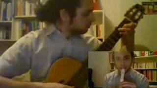 Thème du Village Cocorico à la guitare et à la flûte