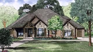 European House Plans With Side Garage - DaddyGif.com (see Description)