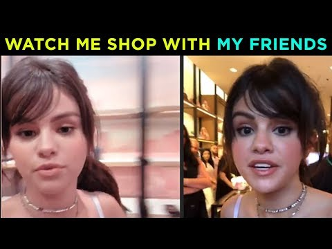 Selena Gomez SHOPPING With Friends At Coach Launch | Hollywood Now