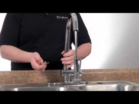 How to Install Pull Down Kitchen Faucet : Complete Guide