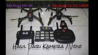 Mjx Bugs 5w 4k dan Mjx Bug 5w old 1080P Amazing!!!Perbandingan Hasil Kamera /Vidio