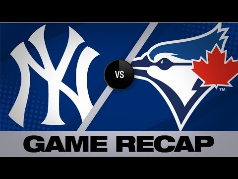 Urshela's two homers lead Yankees in 12-6 win | Yankees-Blue Jays Game Highlights 8/8/19