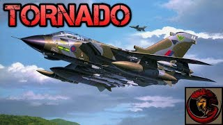 Panavia Tornado - Twin Engine Sweep Wing Fighter/Bomber
