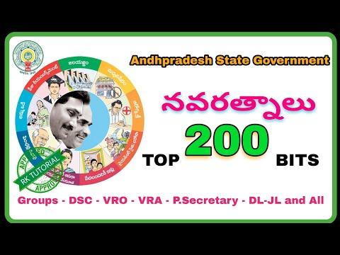 నవరత్నాలు - TOP - 200 Practice Bits || Navaratnalu