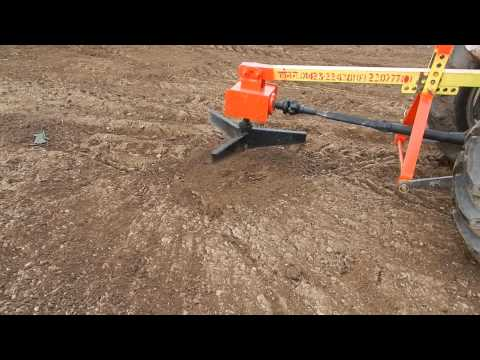 Compost Spreader Machine
