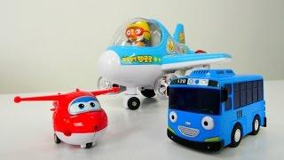 Gambar cover Tayo küçük otobüs, Harika Kanatlar Jett oyuncak kreşimizde