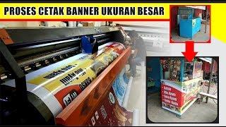 Proses Cetak Banner Di Printer 3 Meter [Star Printing]