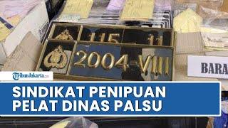 Polda Metro Jaya Bongkar Sindikat Penipuan Pembuat Pelat Nomor Dinas Khusus DPR RI dan Mabes Polri