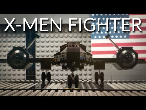 Lego X-Men Fighter