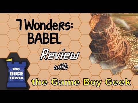 The Game Boy Geek (Dice Tower) Reviews Babel