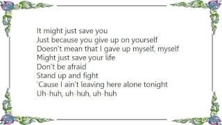 Brandon Heath - Might Just Save Your Life Lyrics