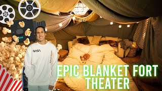 I Surprised My Girlfriend A Blanket Fort!