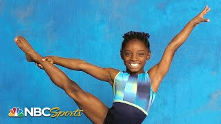 Simone Biles' earliest days in gymnastics - rare footage | NBC Sports