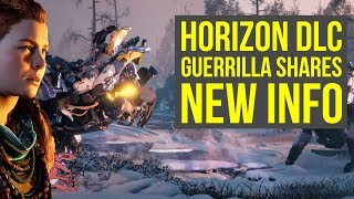 Horizon Zero Dawn DLC Includes Deleted Ideas From Base Game & More! (Horizon Zero Dawn Frozen Wilds)