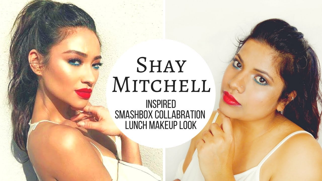 Shay Mitchell Smash Box lunch Celebrity Makeup Tutorial Episode 4