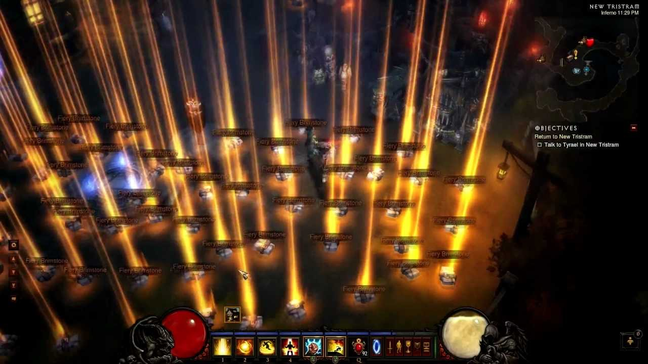 This Is What A Legendary Diablo III Light Show Looks Like