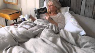 Rough Linen:  Tricia Helps You Choose Your Best Bedding Infills For Her Linen Bedding