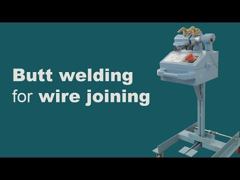 Wire Butt Welder