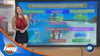 Pronóstico Del Clima: 16 De Abril | Aclimátate Con Yanet García | Hoy