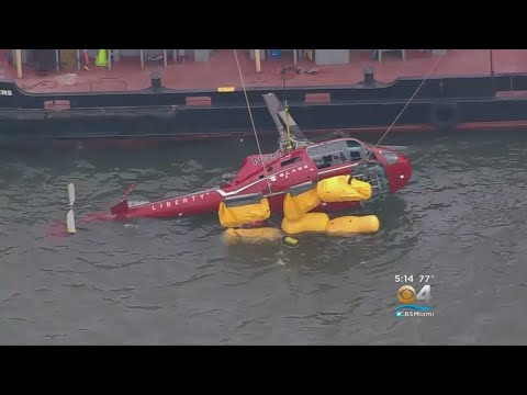 Pilot Says Passenger's Harness Shutoff Fuel Supply In Deadly NYC Helicopter Crash