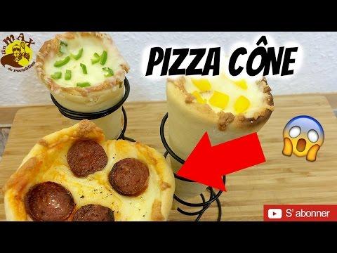 PIZZA CONE ! Recette facile et originale! plat simple et rapide